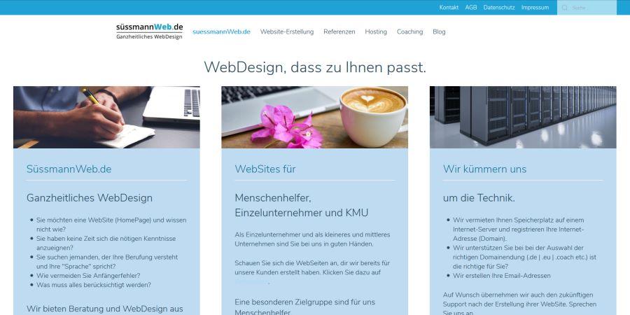 Neue WebAgentur-Seite online